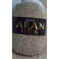 Woolcraft Aran Knitting Yarn 400g With Wool 899 Marble